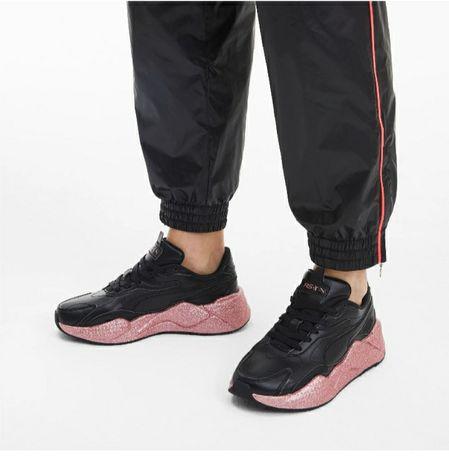 Кожаные кроссовки Puma adidas оригинал