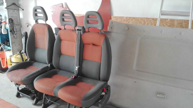 Fotele ducato jumper komplet 06-14