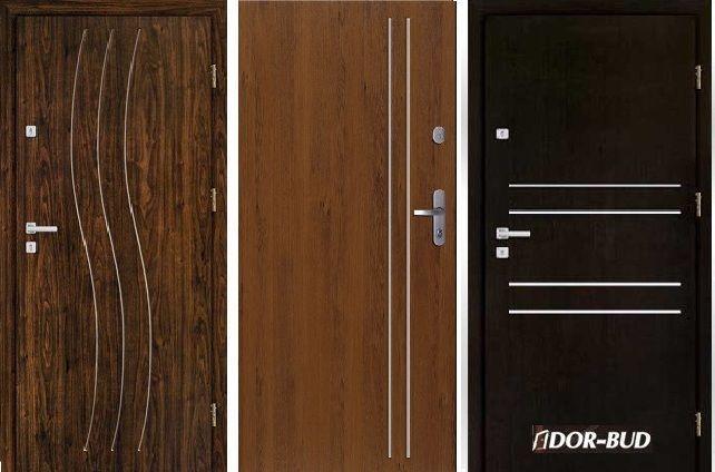 WEWNĄTRZKLATKOWE drzwi zewnętrzne-wejściowe do mieszkań w BLOKÓW