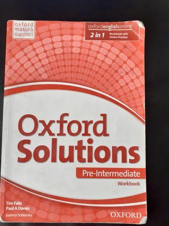 Ćwiczenia Oxford Solutions-angielski