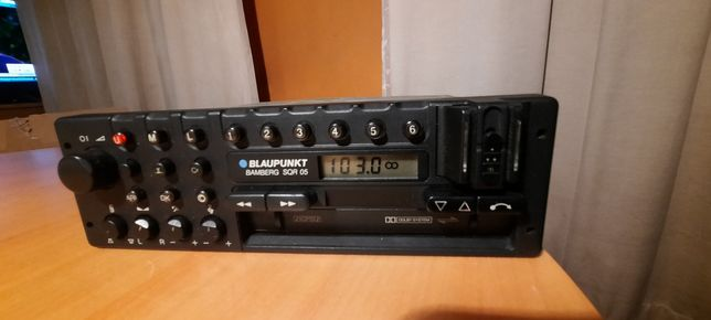 Radio blaupunkt bamberg sqr 05 porsche mercedes bmw