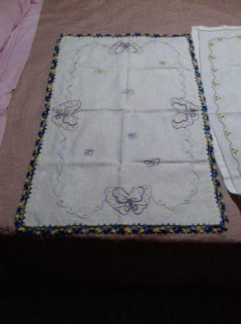 Panos e toalhas em ponto cruz