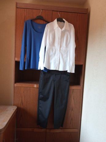 zestaw ANN TAYLOR ANNE KLEIN spodnie + bluzeczki