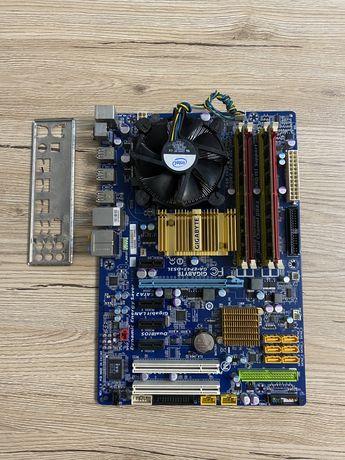 Комплект Gigabyte GA-EP43-DS3L + intel Q8200 + 4gb DDR2