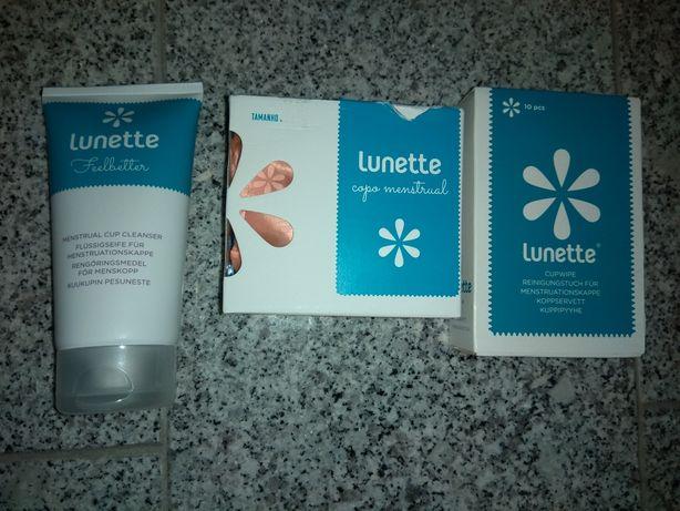 Copo menstrual Lunette