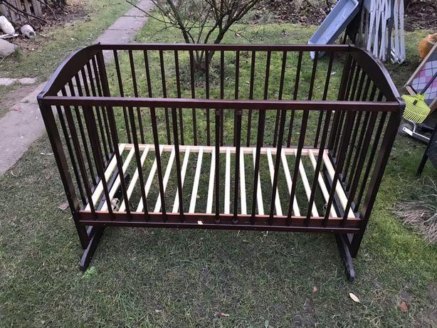 Łóżeczko dziecięce bujane 120x60 cm