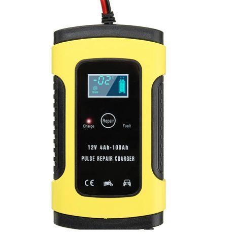 Carregador bateria - 12V – Profissional – Novo com garantia