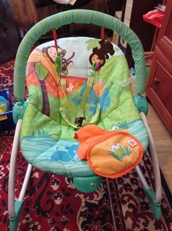 Кресло-качалка Bright Starts Сны в саванне