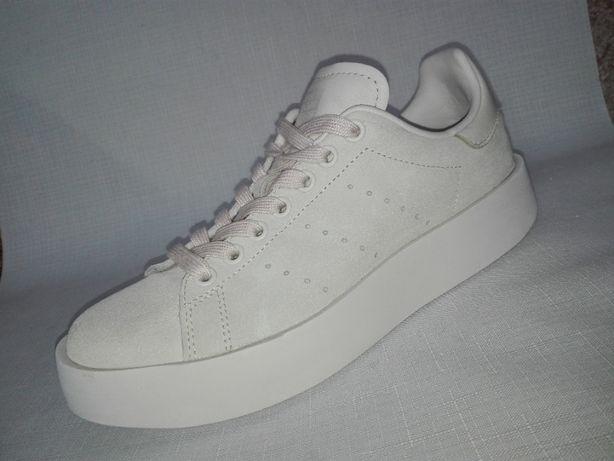 Adidas Stan Smith sneakersy r.38/24cm-Super stan!