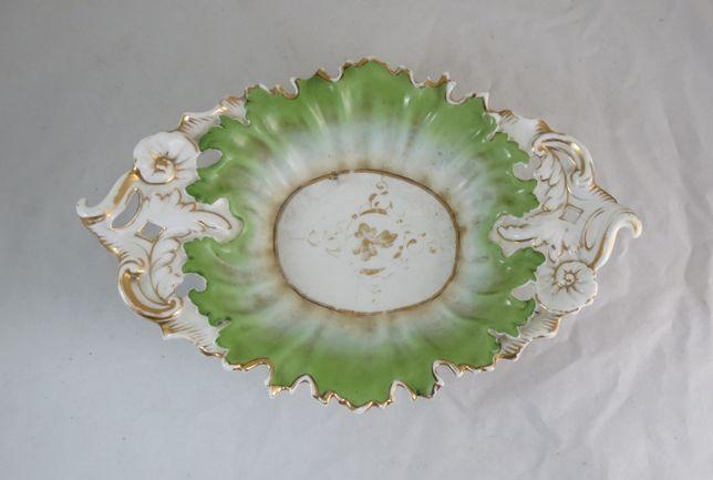 Taça Fruteira Porcelana Alemã German, Carl Tielsch, Altwasse