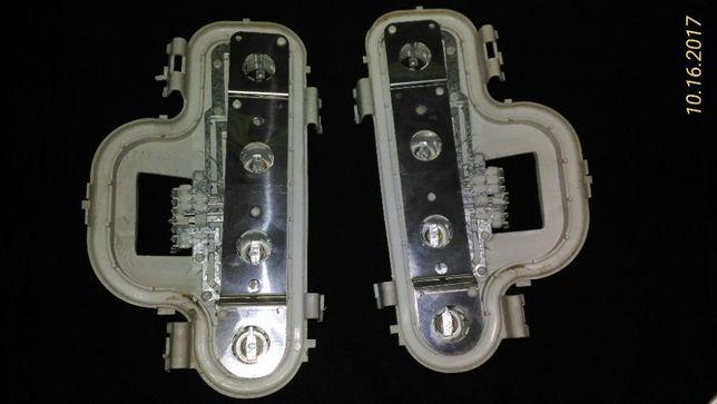 Opel Astra G-suporte das lampadas, Esq.ª e Drtª
