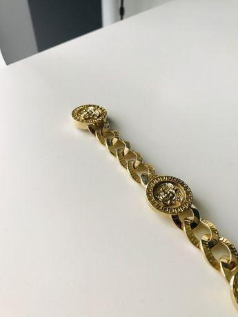 Złota bransoleta versace bransoletka super wyrób 78g 585