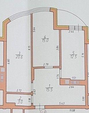 Продаж 5-ти кімнатного ПЕНТХАУСА. Будинок зданий в експлуатацію.