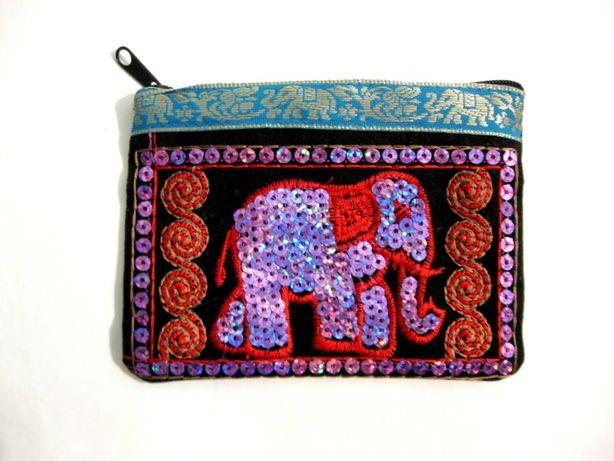 Винтаж красивый кошелек ручна работ - Индия