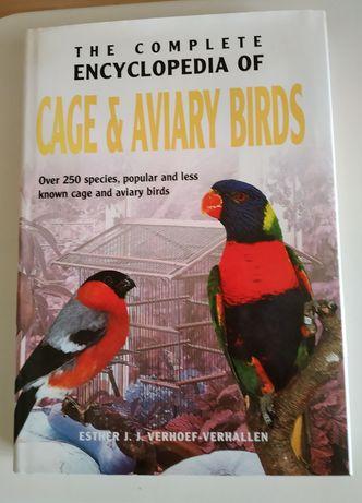 Encyklopedia ptaków ozdobnych w języku angielskim.