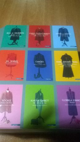 Colecção Grandes Clássicos da Literatura Portuguesa(9 vol) NOVO!