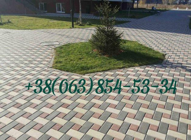 Тротуарная Плитка - Укладка тротуарной плитки