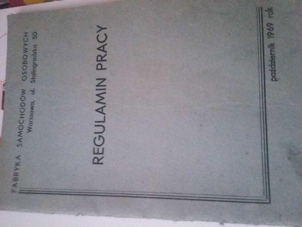Regulamin pracy fso 1969