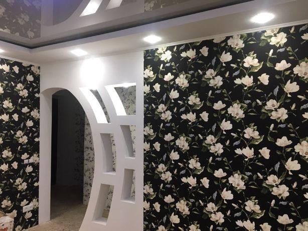Шпатлевка стен ( под обои , под покраску)Поклейка обоев.Декоративка.