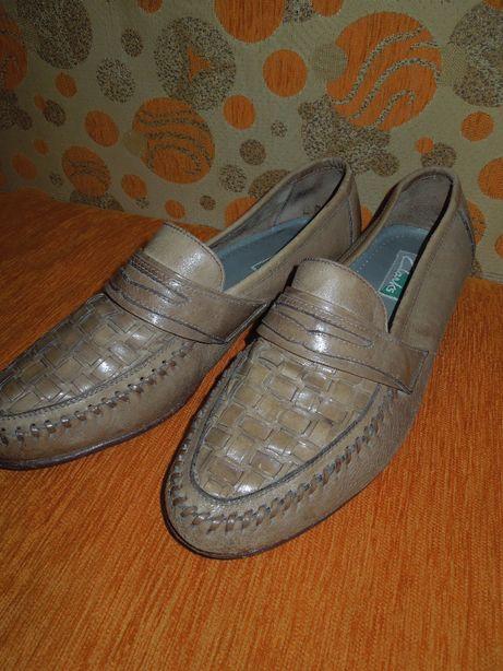 Кожаные туфли мужские Clarks