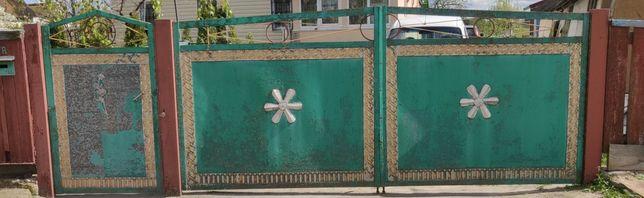 Ворота  металлические ,сварной уголок