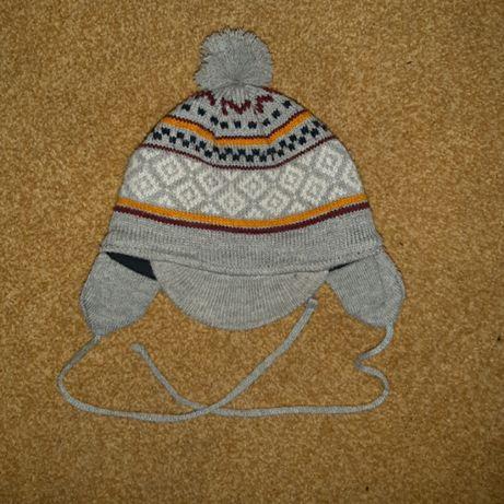 шапка зимняя ergee, в отличном состоянии, размер 43-45