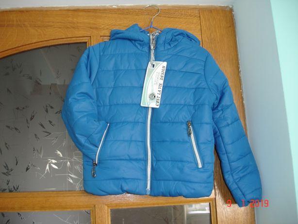 Детская куртка теплая 4-5-6 лет Сest la Vie