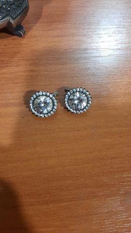 Серьги серебро украшения