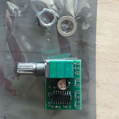 PAM8403 2x3Вт Мини аудиоусилитель (с регулятором)