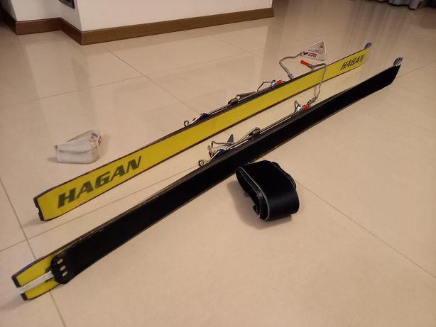 Narty skiturowe 170 cm + foki