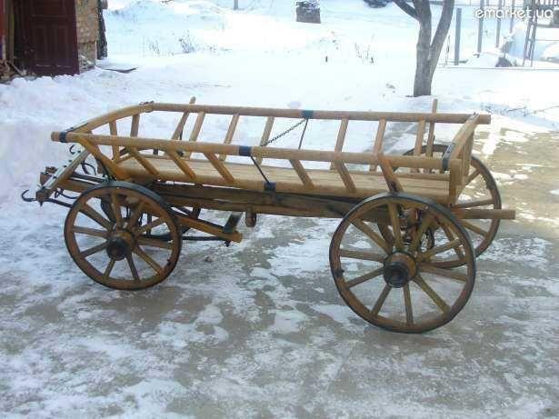 Віз деревяний продам