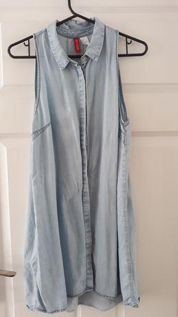 Sukienka jeansowa S H&M