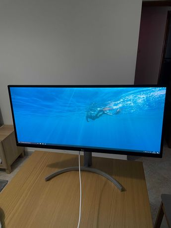 "Monitor LG 34WN650-W IPS 34"" UW-UXGA 21:9 75Hz FreeSync"