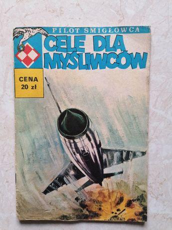 Komiks UNIKAT Cele dla myśliwców Pilot śmigłowca