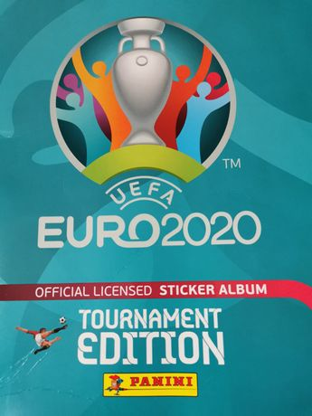 Наліпки UEFA EURO 2020 на обмін