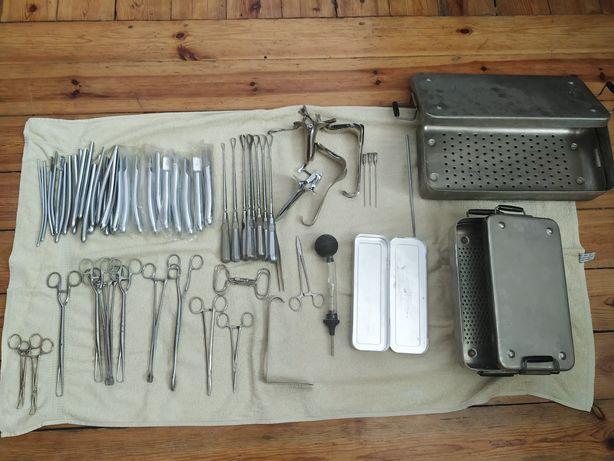 narzędzia chirurgiczne PRL