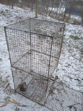 Клітки із сітки для кролів, птиці