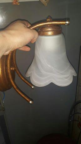 Komplet lamp wiszące i kinkiet