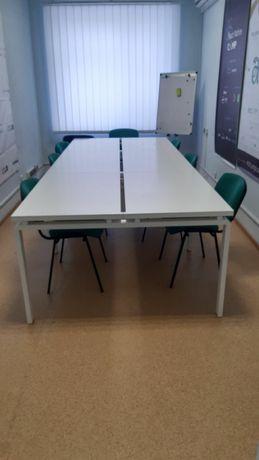 Стол 6 шт скрепленных в одну конструкцию