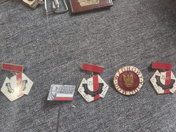 PRL Odznaki w bardzo dobrym stanie