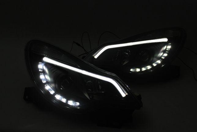 Lampy przednie przód OPEL CORSA D 4 IV 11-14 DIODY LED Dzienne IGŁA!