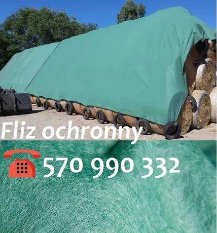 Flizy ochronne 140g/m2 do okrycia SŁOMY przed deszczem_FLIZ 9,80x12,50