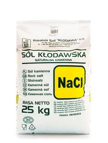 Sól kamienna KSK Kłodawa naturalna spożywcza/paszowa