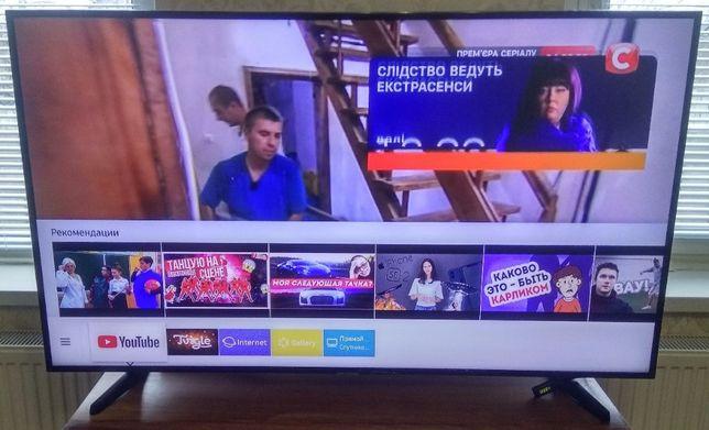 Телевизор SAMSUNG 4K Ultra HD 55 дюймов HDR 7-я серия СМАРТ ТВ WIFI