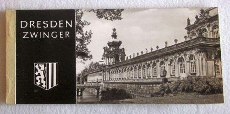 Dresden Zwinger - album pocztówek