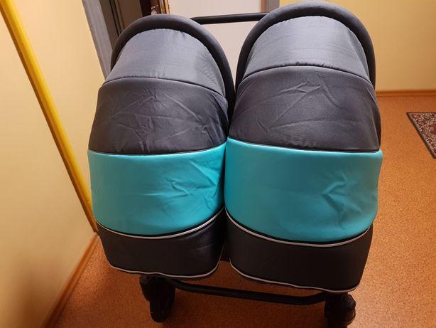 Wózek Bliźniak 3w1