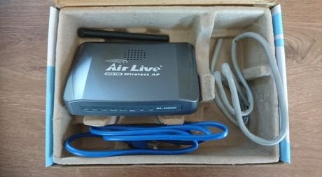 Router AirLive 802.11G Wireless AP + antenka