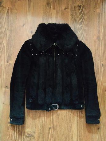 Куртка женская размер S мех натуральный (кролик)
