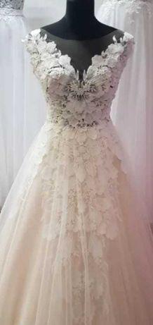 Suknia ślubna rozmiar 40 plus dodatki
