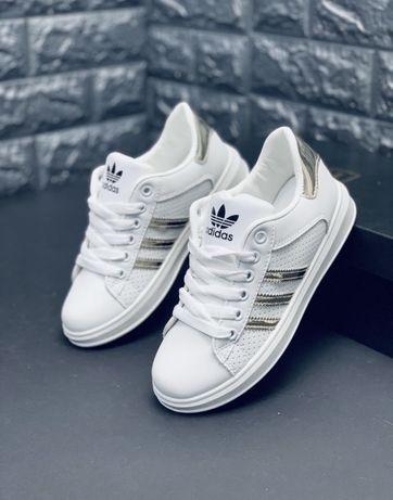 Кроссовки Adidas Superstar Stan Smith Cloudfoam кросовки Адидас Супер